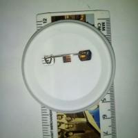 Bahan Pin 58 mm tanpa mika murah (100 piece)