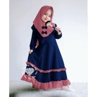 BAJU BUSANA MUSLIM ANAK Maxi Muslim anak perempuan / baju ngaji anak