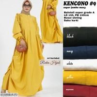 Baju Terusan Wanita Muslim Longdress Kencono #9 Supur jombo Radea