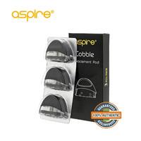 Aspire Cobble AIO Coil Tank Pod Vape Replacement Authentic 3 Pcs