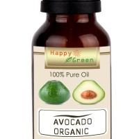 Happy Green ORGANIC Avocado Carrier Oil (30 ml) - Minyak Alpukat Asli