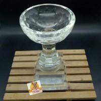 C7581 Plakat kristal / Trophy Crystal kaca / Piala Golf / Piala Dunia