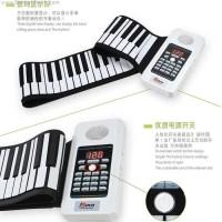 Bora Portable Flexible Electronic MIDI Roll-Up roll up Piano Keyboard