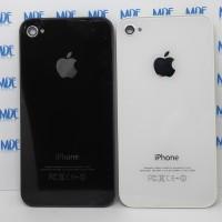 Backdoor Backcover Tutup Casing Belakang Iphone 4S Original - Putih