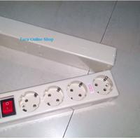 Stop Kontak isi 4 + Indikator Lampu ST-1482NC Uticon 7210033