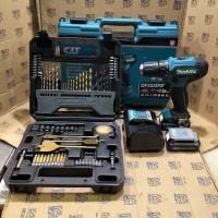 Paket Mata Bor Set 70pc Mesin Bor Baterai Cordless Drill Makita DF331