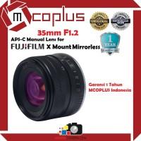 Lensa Mcoplus 35mm F1.2 Lens for Fujifilm X Mount Mirrorless Camera