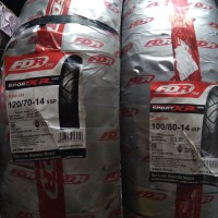 Satu Set (paket) ban FDR Ukuran 120/70-14 & 100/80-14 Sport XR Evo