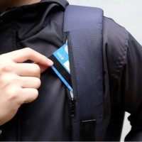 Produk Terlaris!!! Austin Backpack [Navy Blue] Moral Supply Tas