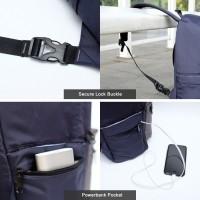 Produk Original Austin Backpack [Grey-Black] Moral Supplt Tas Ransel