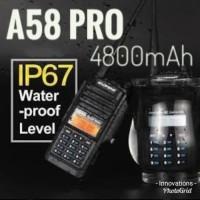 radio ht baofeng A58 pro waterproof A58 PRO 7W 4800 mah ht icom
