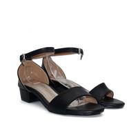 Polla Polly - Eka Black - Sandal Heels Wanita