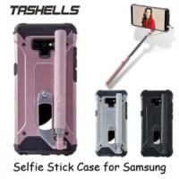 Tashells Built In Selfie Stick Case Wired Samsung Note 9