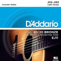 Daddario EJ11 012 Senar Gitar Acoustic D'addario Akustik Original USA