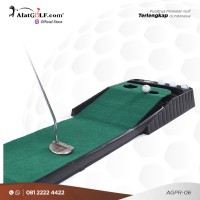 Putting Practice Mat Karpet Golf (Automatic Return) - Economy A