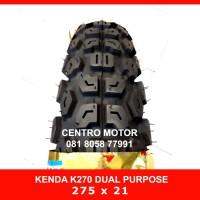 Ban KENDA K270 275X21 DUAL PURPOSE