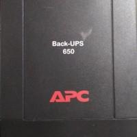 UPS APC Back-ups 650 VA used
