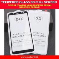 Tempered Glass 5D Full Cover Xiaomi POCOPHONE F1 Antigores Layar Kaca