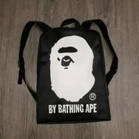 backpack bape head