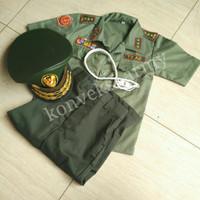 Baju Profesi Anak TNI Jendral