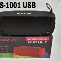 Asatron BS-1001 USB Portable Bluetooth Speaker / Radio FM / USB / TF