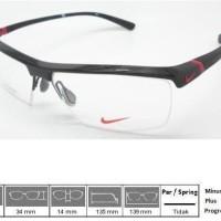 Kacamata Original Frame Nike 7071 Shiny Black