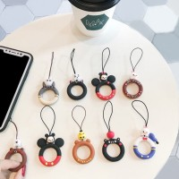 Cartoon Cute Phone Ring Strap Gantungan HP lucu iring karakter