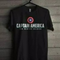 Kaos t shirt diatro/CAPTAIN AMERICA murah keren.