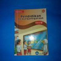 Buku Pendidikan Kewarganegaraan Untuk SD Kelas 5 BSE
