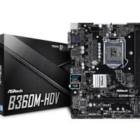 ASRock B360M-HDV (LGA1151, B360, DDR4, USB3.1, SATA3)