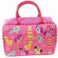Tas Koper anak Little Pony/ Tas Travel Baju / Tas Kanvas anak dewas