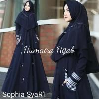 Baju muslim wanita satu set hijab SOPHIA SYARI HUMAIRA HIJAB