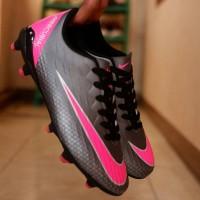 Sepatu Bola Nike Mercurial Hitam Pink Size 39-43 Kualitas Import