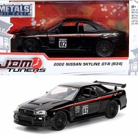 Jada JDM 1/32 2002 Nissan Skyline Gt-R (R34)