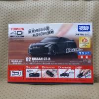 Tomica 4D Nissan GTR Black
