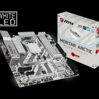 MSI B250M Mortar Arctic Motherboard Socket 1151 Berkualitas