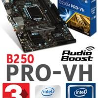 MSI B250M-Pro VH - LGA1151 KABYLAKE Limited