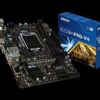 Motherboard MSI B250M PRO-VH LGA1151. B250. DDR4 Berkualitas