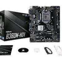 ASRock B360M-HDV LGA 1151 - GEN 300 Series Ready