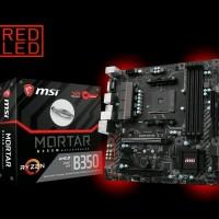 MSI B350M Mortar AM4 AMD Promontory B350 DDR4 USB 3.1 SATA Berkualitas