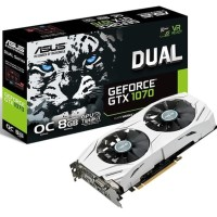 ASUS DUAL GTX 1070 8GB OC GDDR5 - DUAL FAN