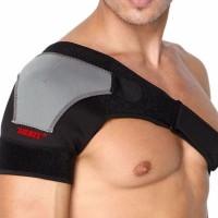 Brace Shoulder Support Aolikes Wrap Belt Bandage Protector Brace 1 Pcs