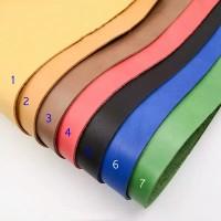 Bahan kulit sintetis tebal MD PELANGI 50x137cm, imitasi tebal 7 warna