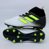 sepatu bola adidas ace high white black list stabilo new