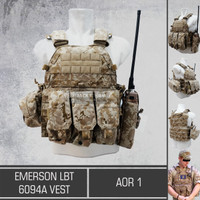 Emerson LBT 6094A Vest AOR 1