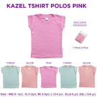 Kazel Tshirt Polos Pink 0-5Thn