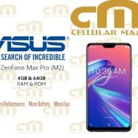 Asus Zenfone Max Pro M2 Zb631Kl 4/64 Ram 4Gb Rom 64Gb Garansi Resmi