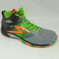 New Sepatu Olahraga Specs Original Quicker Mid Granite/Green New 2018