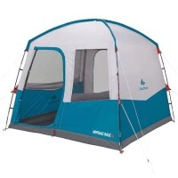 Tenda shelter piknik ARPENAZ BASE M CAMPING 8 PERSON SPF30 BLUE