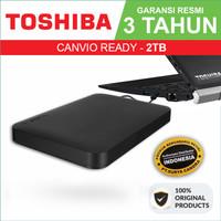 TOSHIBA Canvio 2TB - External HDD - Garansi Resmi - Ready/Basic